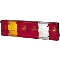 Hella Trailer tail light 7-pin Turn signal, Brake light, Reversing lamps, Tail light, Marker rear, right 24 V
