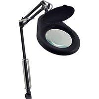 TOOLCRAFT TO-6394494 Desktop illuminated magnifier Magnification: 1.75 x