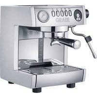 Graef ES850EU Espresso machine with sump filter holder Aluminium 1470 W