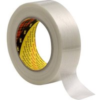 3M 8956 89562550 Filament tape Transparent (L x W) 50 m x 25 mm 1 pc(s)