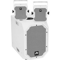 Omnitronic BOB Basic Set 2.1 Active PA speaker set Bluetooth, Built-in mixer