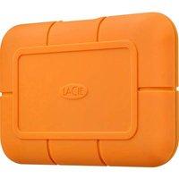 LaCie STHR2000800 Rugged® SSD External SSD hard drive 2 TB Orange USB-C™