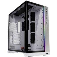 Lian Li Lian Li O11Dynamic XL (ROG Certified) Midi-Tower - weiß Midi tower PC casing, Game console casing White, Black Built-in lighting, Window, Dust filter