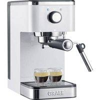 Graef Salita Espresso machine with sump filter holder White 1400 W