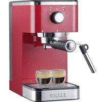 Graef Salita Espresso machine with sump filter holder Red 1400 W
