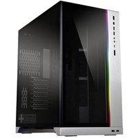 Lian Li O11Dynamic XL (ROG Certified) Midi tower Game console casing Silver Built-in lighting, Window, Dust filter