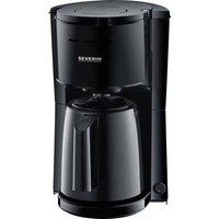 Severin KA 9250 Coffee maker Black Cup volume=8 Thermal jug, incl. filter coffee maker