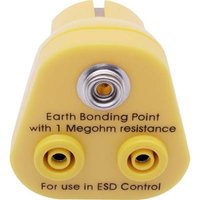 Quadrios ESD PG plug Socket, 10 mm stud and socket