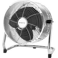 EMERIO , Floor fan 80 W (Ø x H) 30 cm x 32 cm Chrome