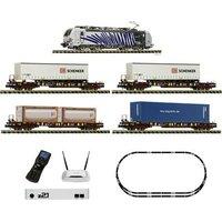 Fleischmann 931891 z21 Digital set: Electric locomotive BR 193 with goods train