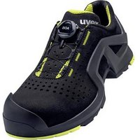 Uvex 6568 6568242 Safety shoes S1P Size: 42 Black/yellow 1 pc(s)