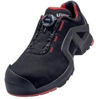Uvex 6567 6567249 Safety shoes S3 Size: 49 Black/red 1 pc(s)