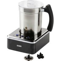 DOMO DO717MF Milk frother Stainless steel, Black 650 W