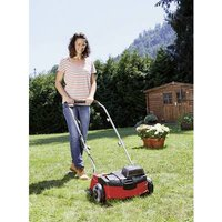 Einhell GE-SC 36/31 Li – Solo Power X-Change Li-ion Rechargeable battery Lawn thatcher Rear ejection, Height-adjustable folding handle, w/o battery Working