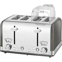 Profi Cook PC-TA 1194 Toaster with home baking attachment Anthracite