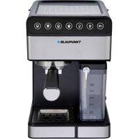 Blaupunkt CMP601 Espresso machine with sump filter holder Black, Steel incl. milk jug