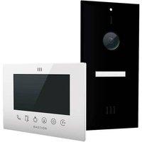 Bastion BA.KIT.UN.BLK.WHT Video door intercom LAN Outdoor panel, Indoor panel Detached Black, White