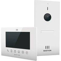 Bastion BA.KIT.UN.WHT.WHT Video door intercom LAN Outdoor panel, Indoor panel Detached White