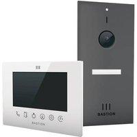 Bastion BA.KIT.UN.ANT.WHT Video door intercom LAN Outdoor panel, Indoor panel Detached Anthracite, White