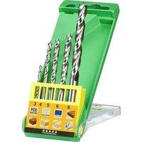 kwb 511900 Wood twist drill bit 5-piece 1 Set
