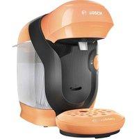Bosch Haushalt Style TAS1106 Capsule coffee machine Orange One Touch, Height adjustable nozzle