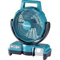 Makita Floor fan (Ø x H) 235 mm x 447 mm Turquoise