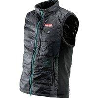 Makita DCV200ZXL Battery thermal waistcoat size XL Size: XL Black