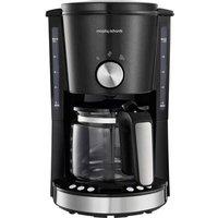 Morphy Richards EVOKE Schwarz Coffee maker Black Cup volume=10 Timer