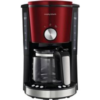 Morphy Richards EVOKE Rot Coffee maker Red Cup volume=10 Timer