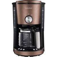 Morphy Richards EVOKE Bronze Coffee maker Bronze Cup volume=10 Timer