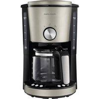 Morphy Richards EVOKE Platin Coffee maker Platinum Cup volume=10 Timer