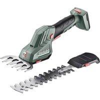 Metabo PowerMaxx SGS 12 Q Rechargeable battery Lawn shears, Bush trimmer w/o battery