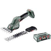 Metabo SGS 18 LTX Q Rechargeable battery Lawn shears, Bush trimmer w/o battery