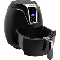 Princess 01.182021.01.001 Airfryer 1400 W with display, Non-stick coating, Timer fuction Black