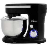 Tristar MX-4837 Food processor 1000 W Black, Stainless steel