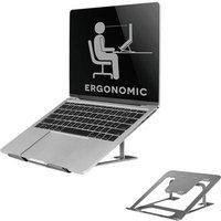 NewStar NSLS085GREY Laptop stand Height-adjustable