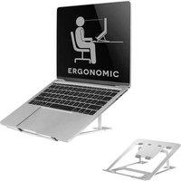 Neomounts by Newstar NSLS085SILVER Laptop stand Height-adjustable