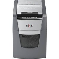 Rexel Optimum AutoFeed+ 90X Document shredder Particle cut 4 x 28 mm 34 l No. of pages (max.): 90 Safety level (document shredder) 4 Also shreds Paper clips,