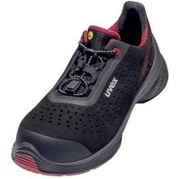 Uvex uvex 1 G2 6837249 ESD safety shoes S1P Size: 49 Red-black 1 Pair