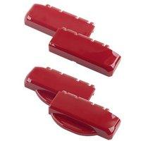 Bopla B SC HB PC-V0-3000 Scharnierverschluss Hinge Polycarbonate (PC) Fire red (RAL 3000) (L x W x H) 100 x 27 x 48.3 mm 1 pc(s)
