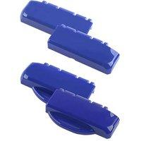 Bopla B SC HB PC-V0-5002 Scharnierverschluss Hinge Polycarbonate (PC) Ultramarine blue (L x W x H) 100 x 27 x 48.3 mm 1 pc(s)