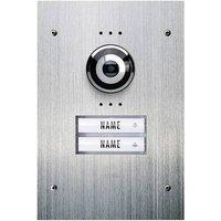 m-e modern-electronics Vistadoor VDV 920 Video door intercom Corded Outdoor panel Semi-detached Stainless steel