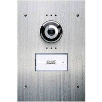 m-e modern-electronics Vistadoor VDV 910 Video door intercom Corded Outdoor panel Detached Stainless steel