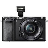 E-mount system camera Sony ILCE-6000LB SEL-P16-50 mm Standard z