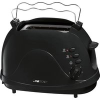 Clatronic TA3565 Toaster with built-in home baking attachment Black
