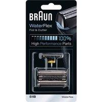 Braun 51b Kombipack 8000 Foil And Cutter Black 1 Set