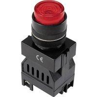 TRU COMPONENTS LED indicator light Red 24 V DC Y090 E-S/24V