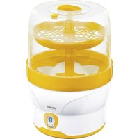 Beurer BY 76 Bottle steriliser White, Yellow