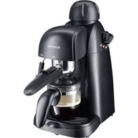 Severin KA 5978 Espresso machine with sump filter holder Black 800 W incl. frother nozzle