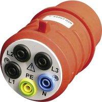 Beha Amprobe;DAA-16;Test lead adapter;CEE plug (5-pin, 16 A) - 4 mm socket